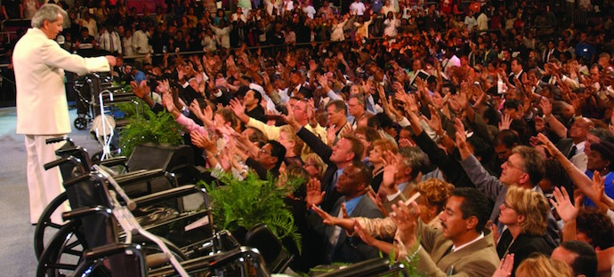 Benny Hinn Prayer